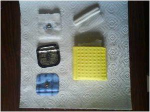Como fabricar parches o electrodos de electroestimulacion caseros en https://www.electroestimulaciondeportiva.com/