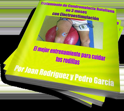 Tratamiento y entrenamiento de electroestimulación para la Condromalacia roguliana. Joan Rodríguez y Pedro García en https://www.electroestimulaciondeportiva.com/