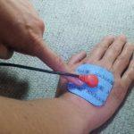 Electroestimuladores y electrodos. Truco para no romper las conexiones de los electrodos