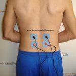 Electroestimulador y electroestimuladores. Resistencia aeróbica para mantener la espalda