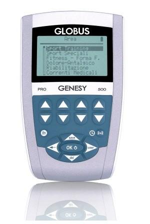 Globus Genesy 500. Electroestimulador compex, globus, cefar. https://www.electroestimulaciondeportiva.com/