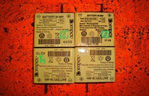 Quita la batería de tu compex cuando no lo uses