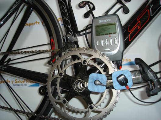 Electroestimulacion y ciclismo.