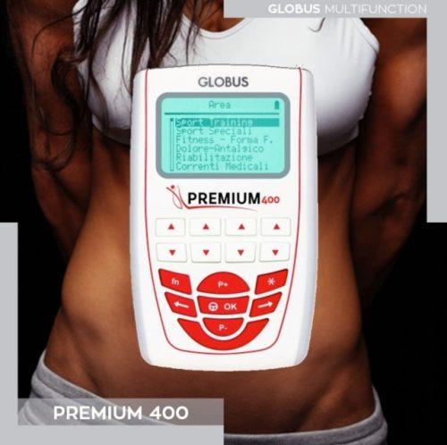 electroestimulador globus premium 400 TENS EMS y Microcorriente
