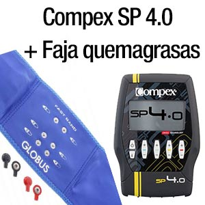 Compex SP4.0 + Faja