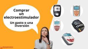 Comprar un electroestimulador, un gasto o una inversión