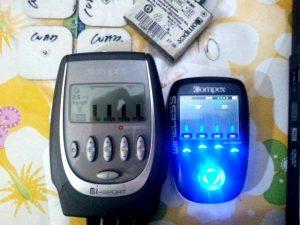 Electroestimuladores compex y el pitido