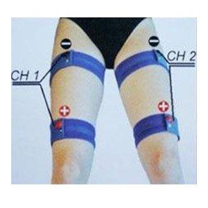 Kit 4 bandas elásticas de electroestimulación para piernas