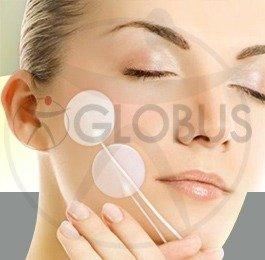 electrodos globus para la cara