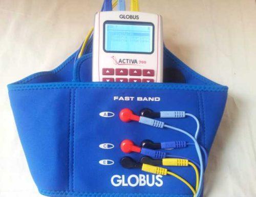 Faja de electroestimulació para abdomen y espalda baja. Tolo y tonificación
