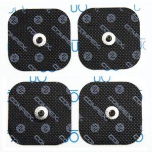Parches Compex black snap 5x5