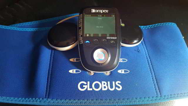 faja globus quemagrasa para compex wireless sp y fit