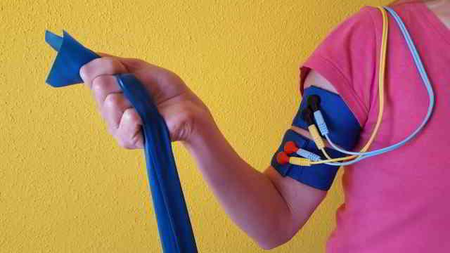 bandas elasticas brazos