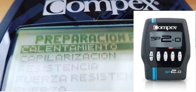 Compex sp 2.0 programa calentamiento sp 2.0 de compex