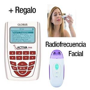 Globus Activa 700 + entreno estética + Equipo Radiofrecuencia facial
