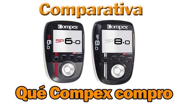 Qué electroestimulador Compex comprar: Sp 6.0 ó Sp 8.0