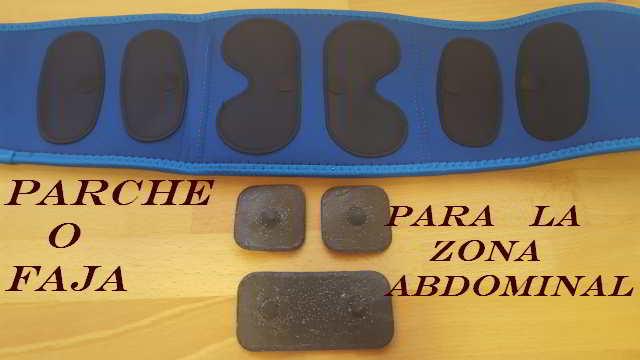 electrodos en abdomen perder grasa