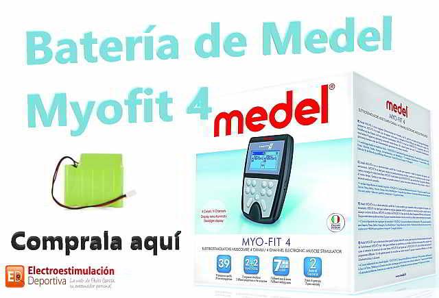 Batería Medel Myofit 4; ya están disponibles
