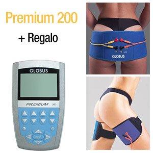 Globus premium 200 más fajas para piernas y abdominales