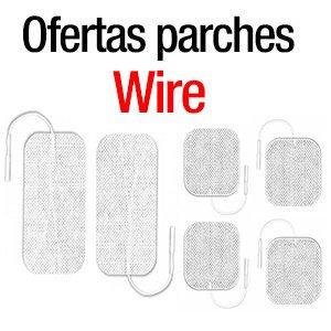 Juegos parches Wire oferta