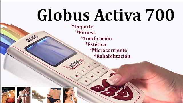 electroestimulador facial Globus Activa 700