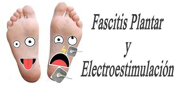 fascitis plantar tratamiento electroestimulación
