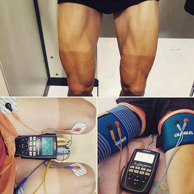 Masa muscular electroestimulacion