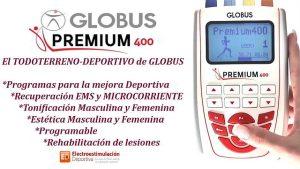 Premium 400 de globus, electroestimulador para deporte