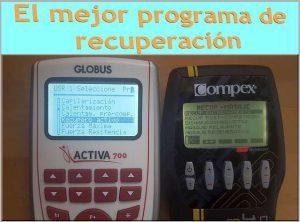 programa recuperacion electroestimulacion