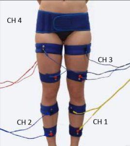 drenaje piernas completas con electroestimulación