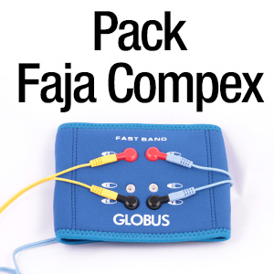Pack Faja Fast Band + 2 cables para Compex