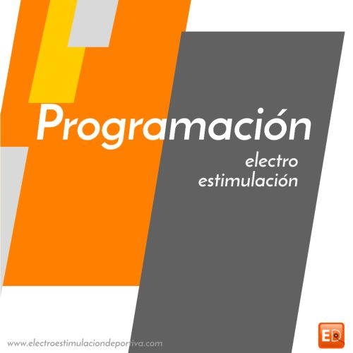 programación con electroestimulacion