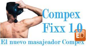 Pistola de masaje compex fixx1.0