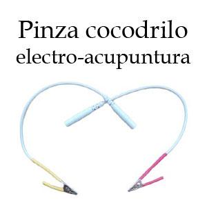 Pinza cocodrilo electroacupuntura