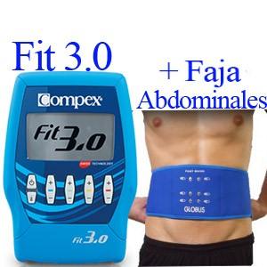 Compex Fit 3.0 mas faja abdominales