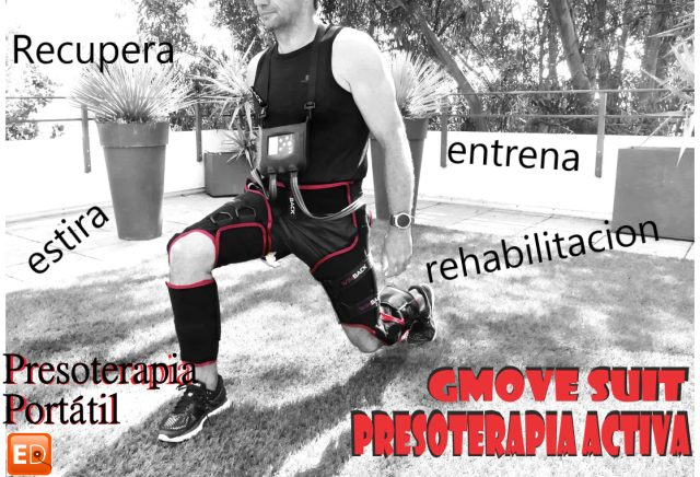 Gmove suit presoterapia en movimiento.