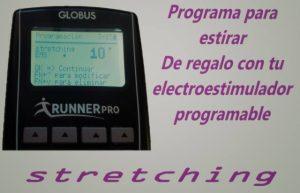 Stretching con tu electroestimulador globus programable