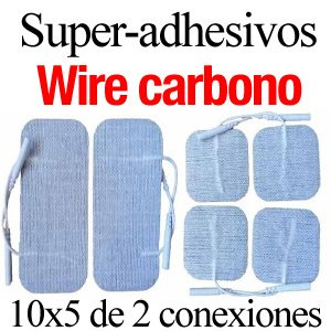 parches super-adhesivos carbono wire