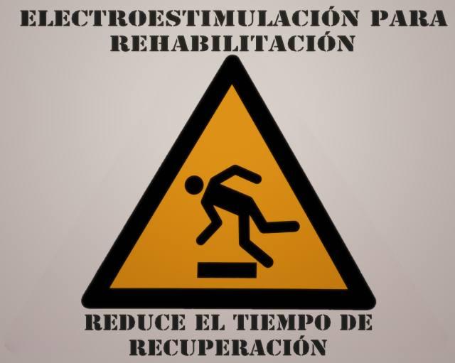 Reduce el tiempo de rehabilitación con la electroestimulación