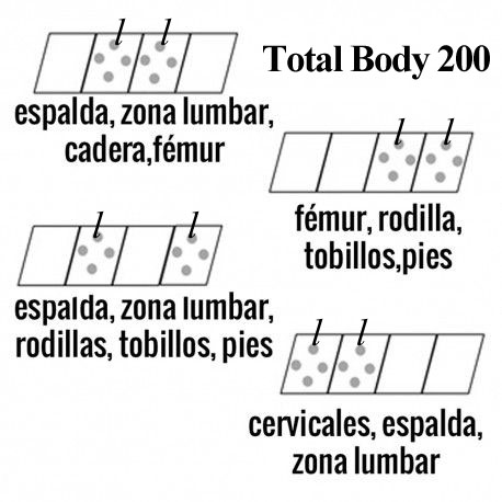 Difusores total body 200