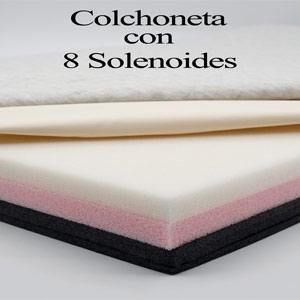 Colchoneta con 8 solenoides