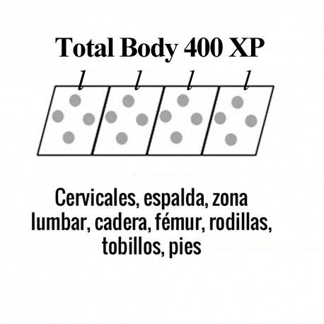 colchoneta total body 400 XP