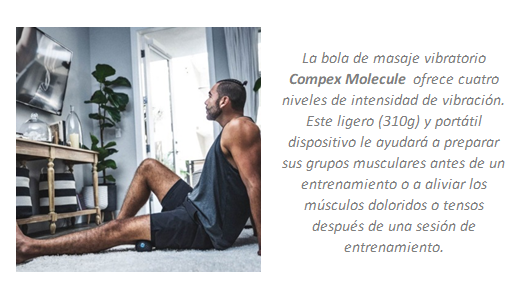 masaje vibracón compex molecule