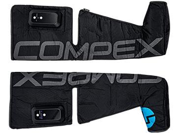 2 botas de presoterapia compresión Ayre de Compex