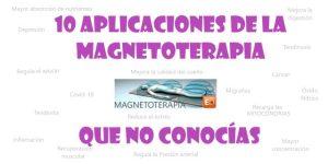 Aplicaciones de la magneterapia
