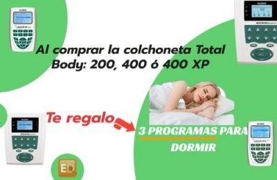 Regalo de 3 programas nocturnos de magnetoterapia