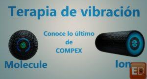 bola masaje compex y rodillo masaje compex